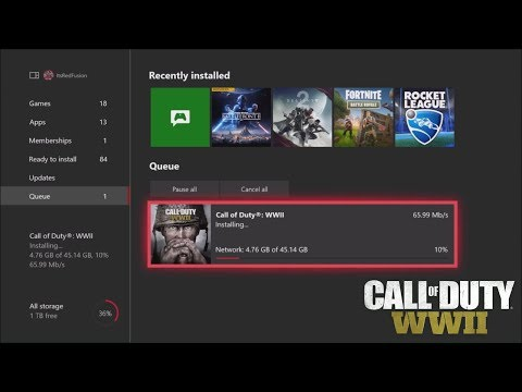 how to talk on wwii xbox one