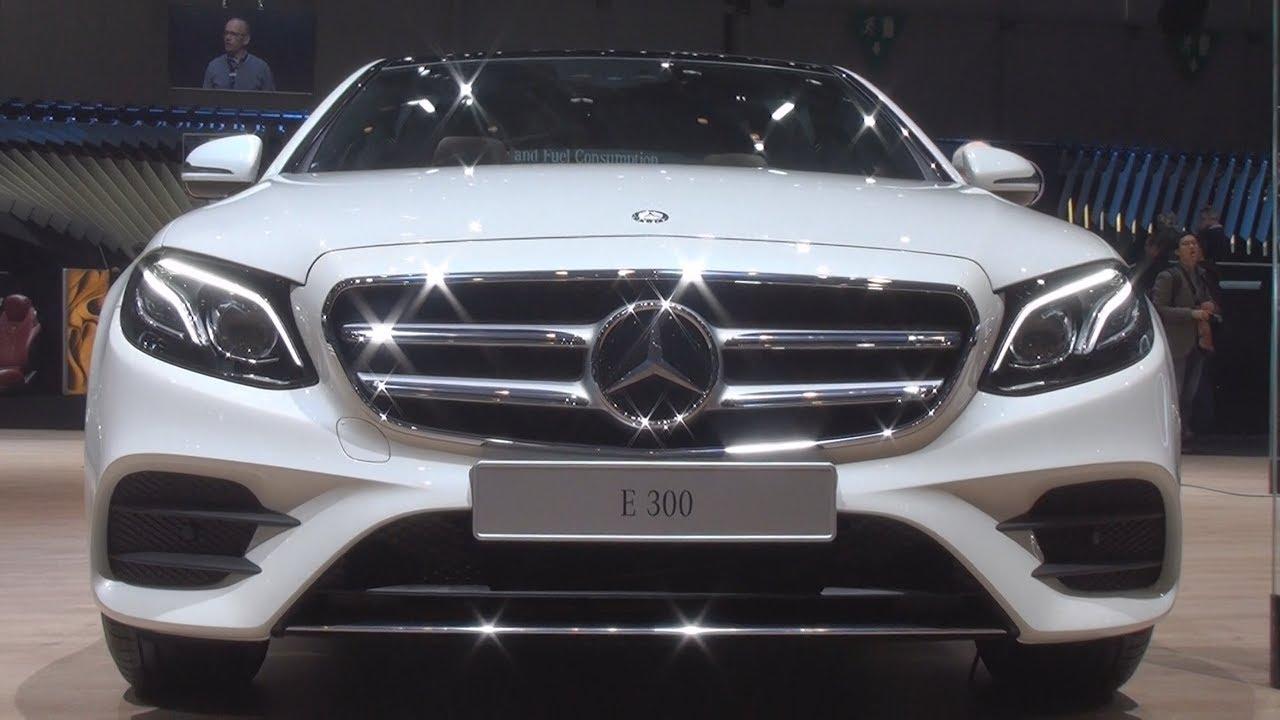 Mercedes Benz E 300 Limousine 2016 Exterior And Interior Youtube