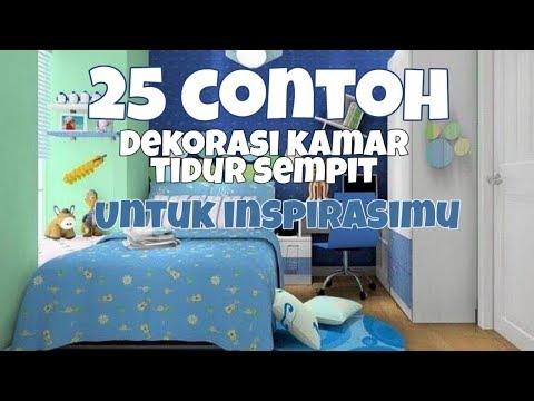 Makeover Kamar Tidur Sederhana  25 contoh dekorasi kamar sempit bisa jadi inspirasi youtube