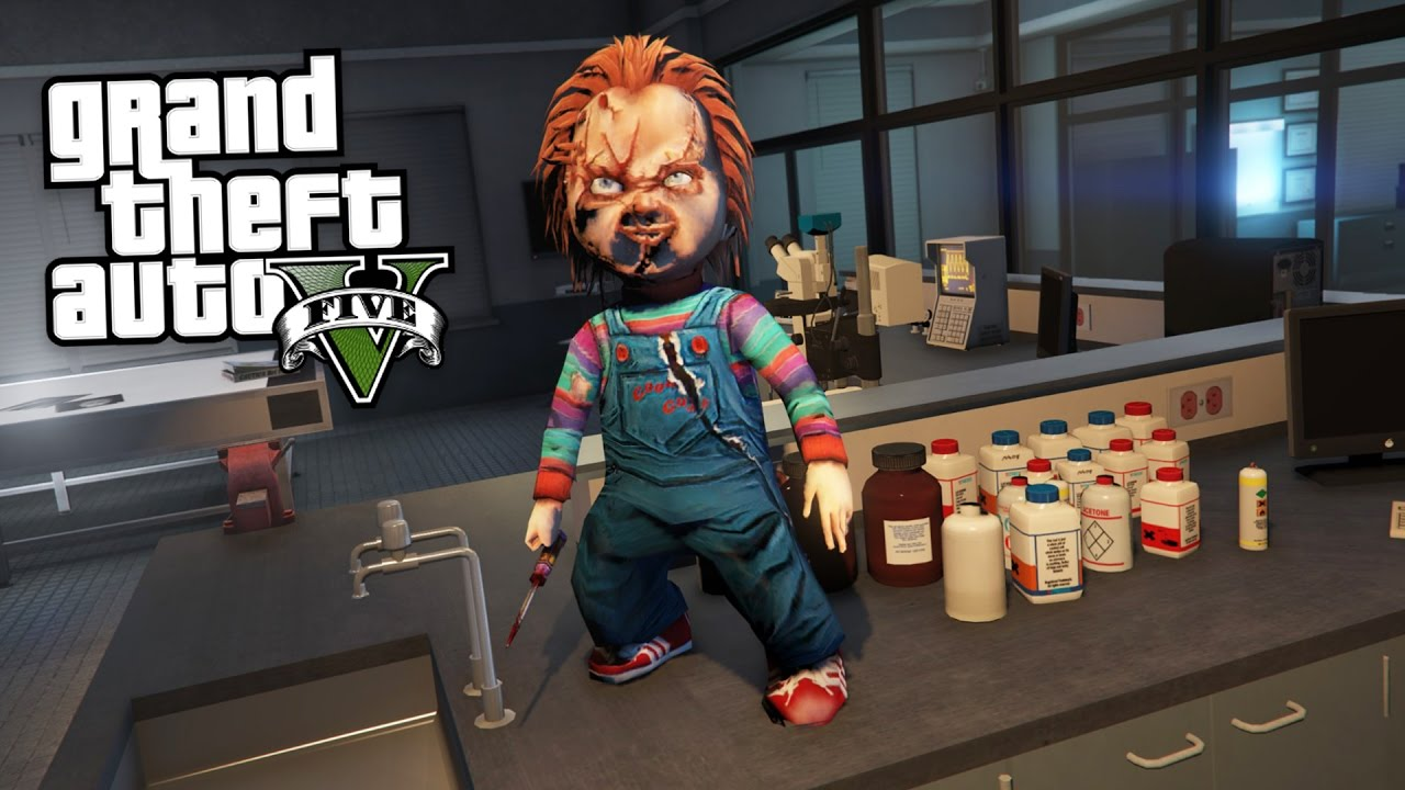 ULTIMATE CHUCKY KILLER DOLL MOD GTA 5 Mods