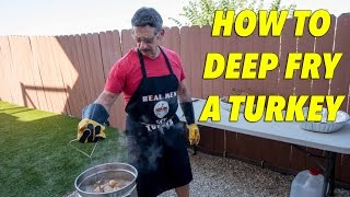 How to Deep Fry A Turkey - Step By Step Guide