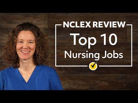 Top 10 Nursing Jobs
