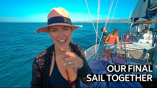 OUR FINAL SAIL TOGETHER | SAILING BOAT LIFE PUERTO RICO