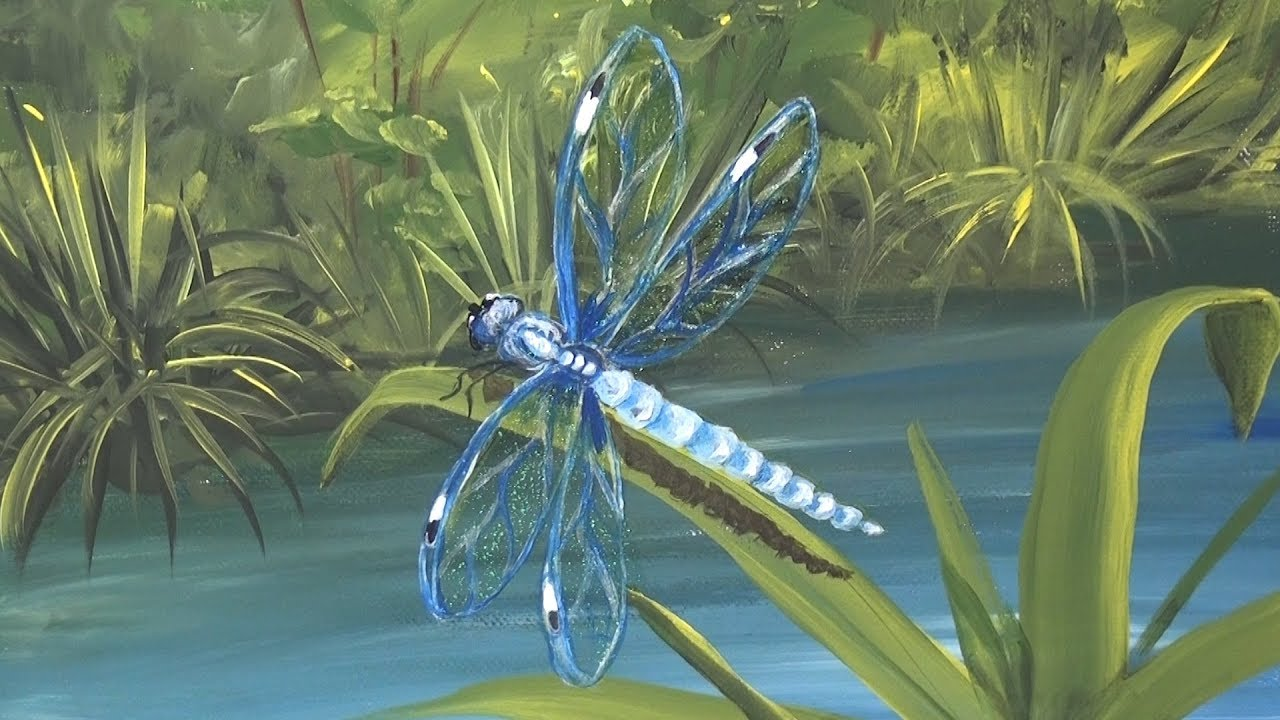 Paint Dragonfly