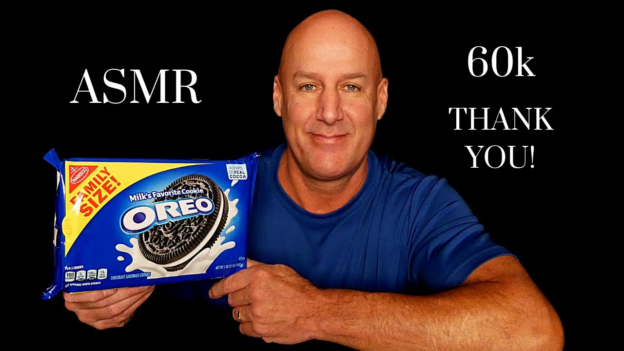 ASMR: OREO COOKIES AND MILK~THANK YOU FOR 60K