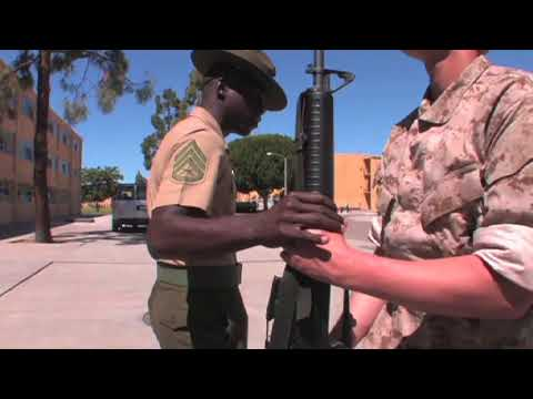 USMC DRILL INSTRUCTORS DESTROY RECRUITS!