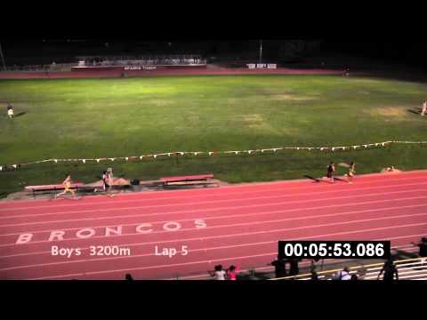 2014 SJS Finals Boys 3200m
