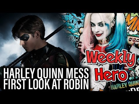 Harley Quinn Mess, First Look At Robin - The Weekly Hero