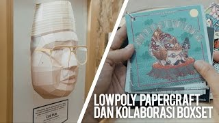 3D LOWPOLY PAPERCRAFT & BOXSET BY GO AHEAD PEOPLE JOGJA
