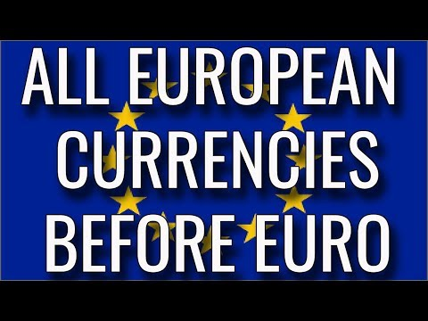 European Countries Currency. Pre-euro.