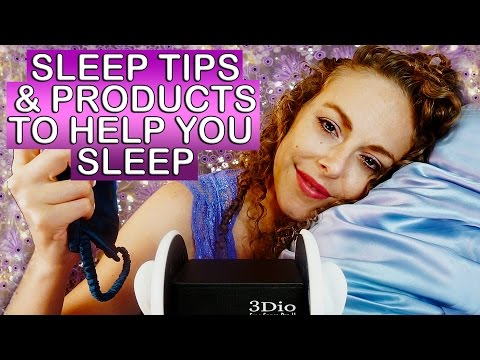 Sleepytime ASMR  ♥ 3Dio Ear to Ear Whisper, Sleep Tips for Relaxation, Silk Fabric Sounds,