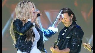 HIT! Małgorzata Rozenek-Majdan i Radosław Majdan zaśpiewali na ramówce TVN z zespołem Sweet Mullet!