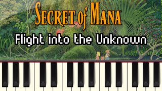 Flight Into the Unknown - Secret of Mana [Synthesia]