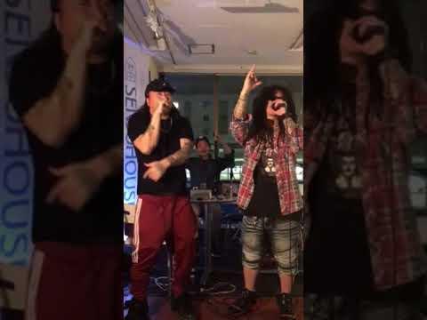 DMF(KNZZ & FEBB & A-THUG)によるスタジオライブ‼︎ in らっぷの時間 × 792TOKYO HOTLINE‼︎