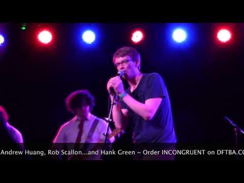 Hank Green STRANGE CHARM Live in Pomona