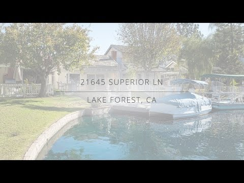 21645 Superior Ln, Lake Forest, CA