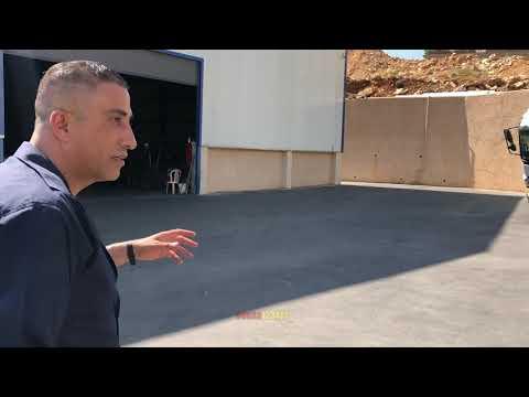 فيديو كاميرات المراقبة لحظة انقلاب وهروب العجل ودخوله احد المكاتب مع جمال العمواسي