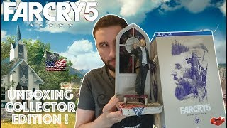 LE COLLECTOR DU FAN A TIQUE | FAR CRY 5 COLLECTOR'S EDITION UNBOXING !
