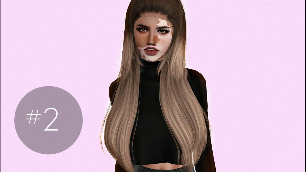 The Sims 3 Cas 2 Vitiligo Beauty Lookbook Youtube