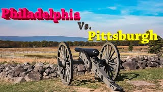 Philadelphia Vs. Pittsburgh. See who's the best in the Keystone State.