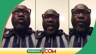 Défaite des Lions: Découvrez le message responsable de Cheikh Sadibou Diop