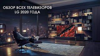 Обзор телевизоров LG 2020 года