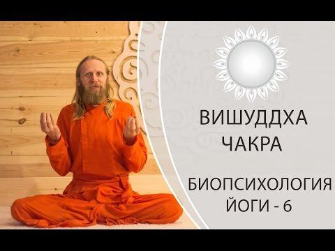 ВИШУДХА ЧАКРА, БИОПСИХОЛОГИЯ ЙОГИ-6. Горловая чакра