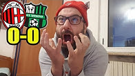 PEGOLO TI ODIO || LIVE REACTION MILAN-SASSUOLO 0-0