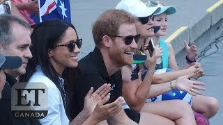 prince harry meghan markle make first public appearance