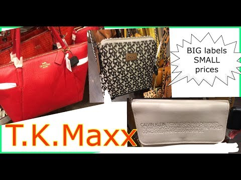 How Much Are The Women's Bags In T.K.Maxx(Coach,Mk,dkny,etc) |T.K.Maxx UK |