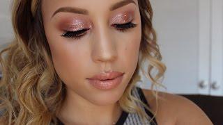 Rose Gold Makeup Tutorial Thumbnail