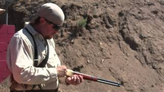 Little Bighorn Memorial 2-Gun Match, with a Winchester 1866