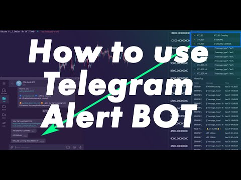 How to Use Telegram BOT for TradingView alerts