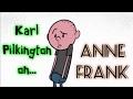 Karl Pilkington on Anne Frank (with Ricky Gervais & Stephen Merchant)