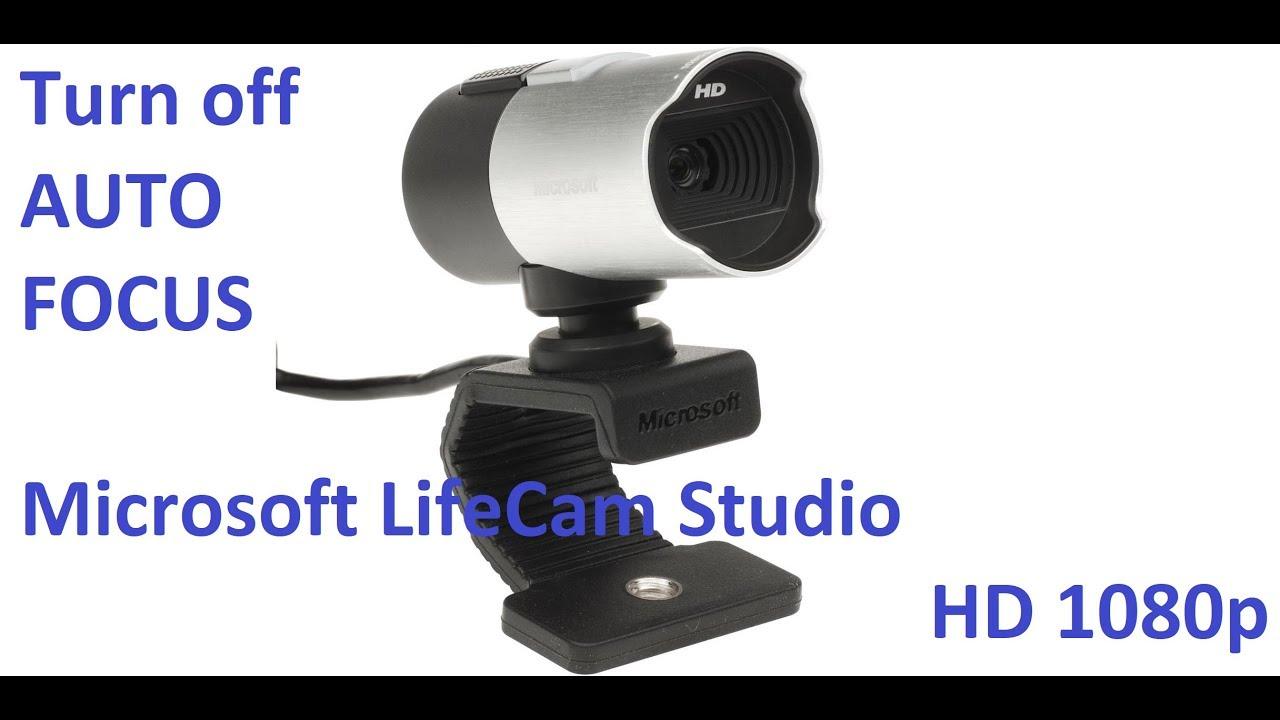 Microsoft LifeCam Studio Auto Focus Fix - Turn Off