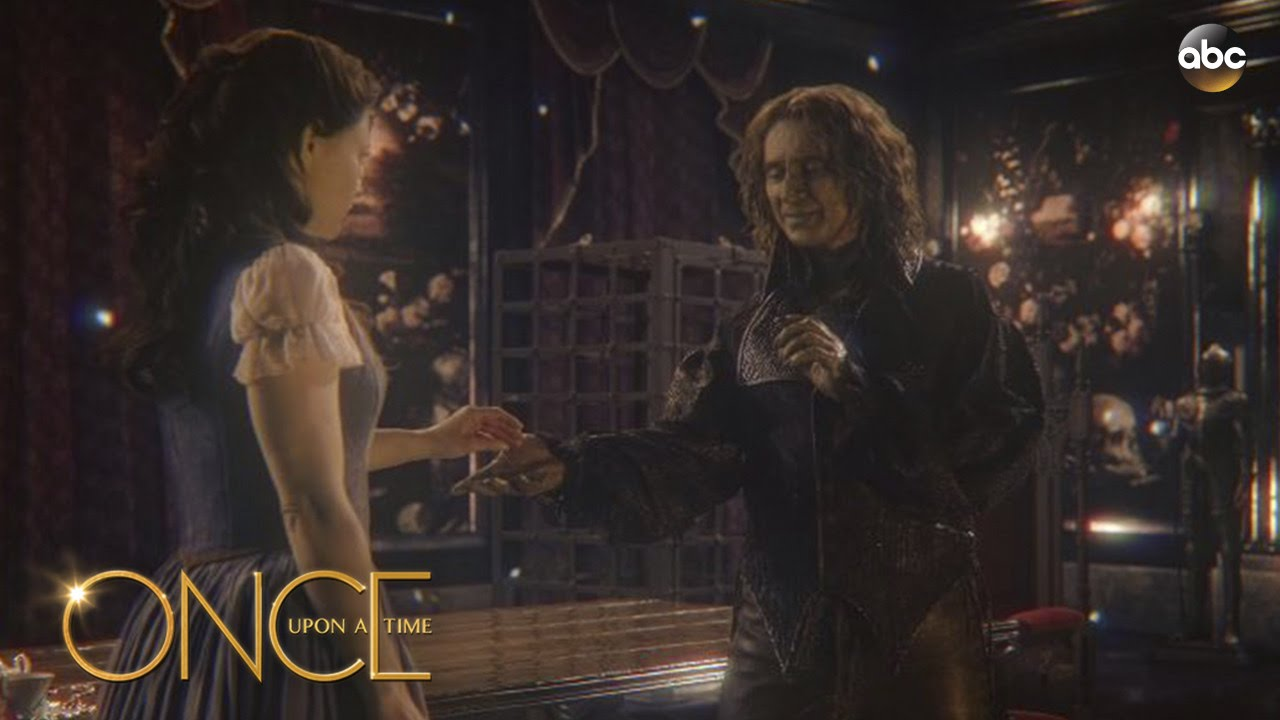 Rumple And Belle Dance To Beauty And The Beast Once Upon A Time