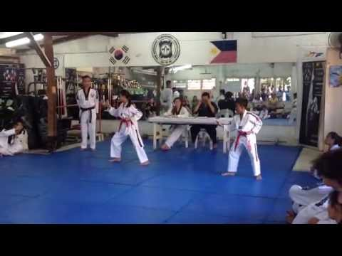 red belt tkd tion test