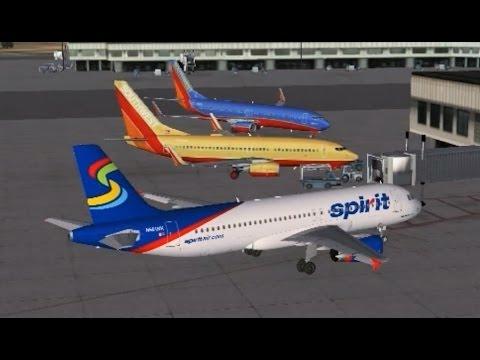 VATSIM Group Flight | Departing LAX with Full ATC | FSX Steam Edition