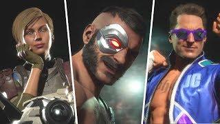 Mortal Kombat 11 - Intros/Victory Poses All Characters Costumes/Skins So Far