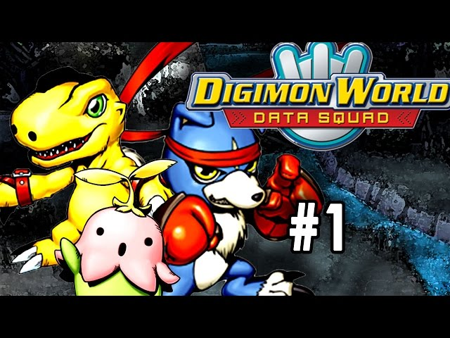 Lets Play Digimon World - Data Squad [Part 1] [Into The Digital World]