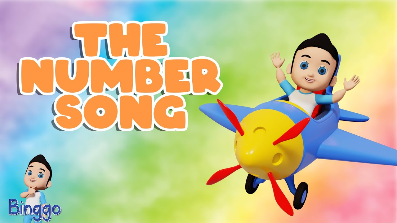 The Number Song | 123 Song | More Nursery Rhymes & Kids Song