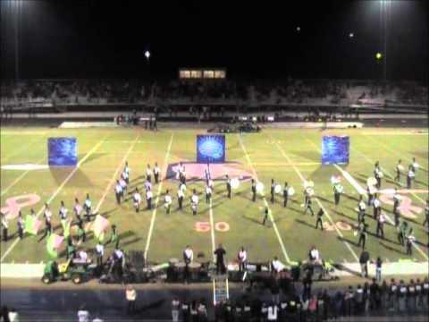 Chapman High School (Inman, SC) Marching Band CHS Band, Oct 13, 2012