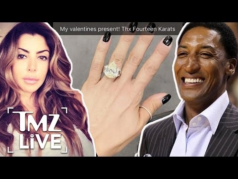 Scottie and Larsa Pippen Reunite | TMZ Live