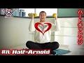 【ダンベル筋トレ】アーノルドプレスで大胸筋のトレーニングしましょう!【バストアップチャレンジ】