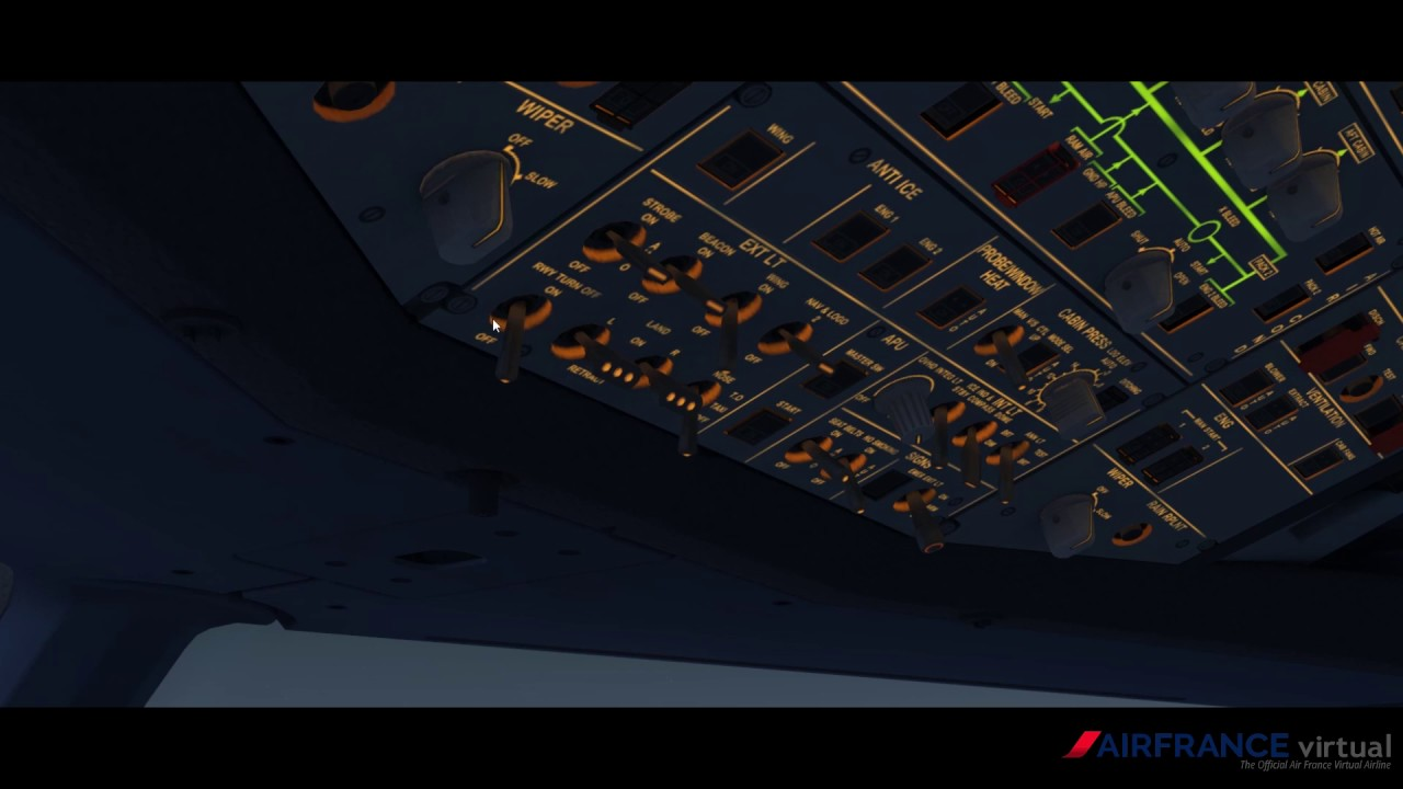 [FR][P3D2016] - AFR706A - Landing in Nice [IVAO ATC][FR]