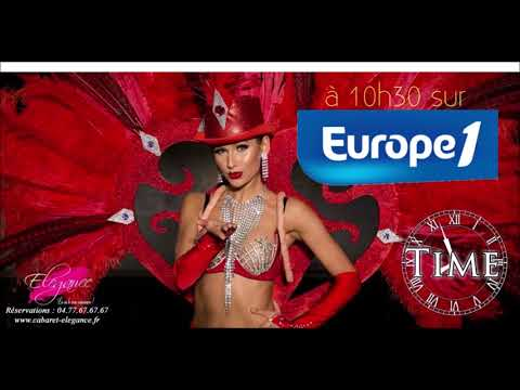 Reportage Europe 1 Elégance Cabaret