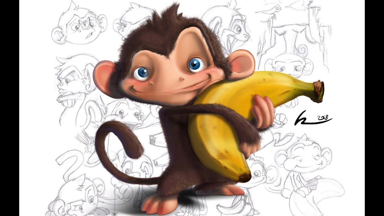 japanese wallpaper cartoon monkey - photo #26