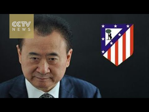 China company purchases 20% stake of Spanish football club, Atletico Madrid