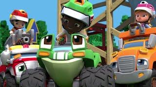 Rev & Roll | The Wild Wheelin' Stunt Park | Episode 5 | Kids Cartoons | Wildbrain Cartoons