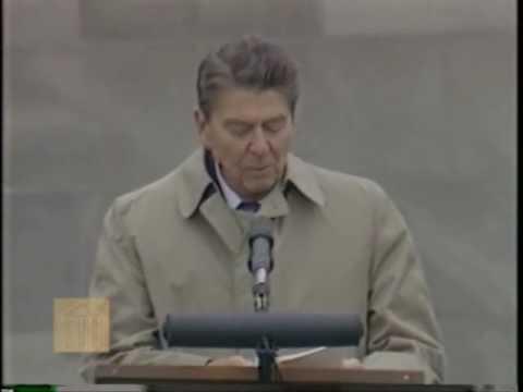 Ronald Reagan-Bergen-Belsen Concentration Camp (May 5, 1985)